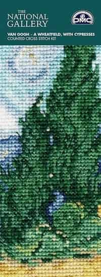 DMC Cross Stitch Kit - Bookmark, Van Gogh A Wheatfield BL1121/71