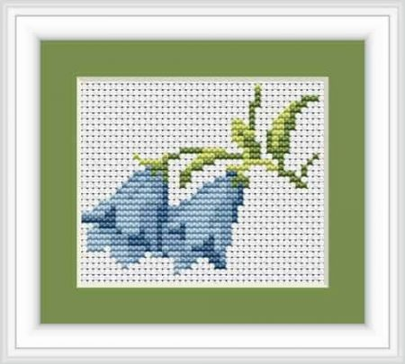 Luca S Cross Stitch Kit - Bluebells