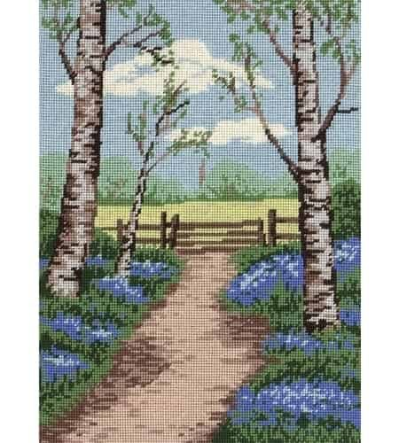 Anchor Needlepoint Tapestry Kit - Bluebell Walk MR84914