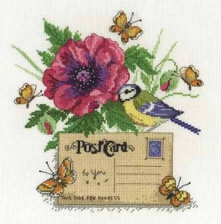 DMC Cross Stitch Kit - Bluetit BK1661