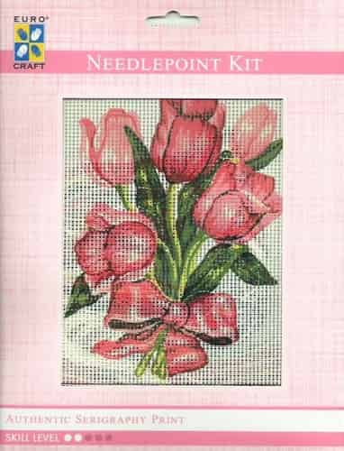 Grafitec Needlepoint Tapestry Kit - Tulips Bouquet