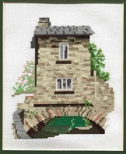 Derwentwater Designs Cross Stitch Kit - Dales Designs - Bridge House