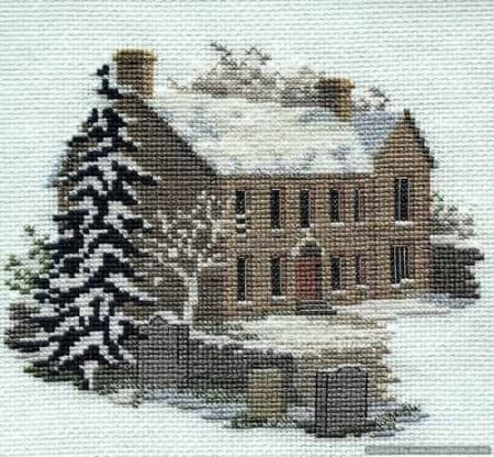 Derwentwater Designs Cross Stitch Kit - Bronte Parsonage2