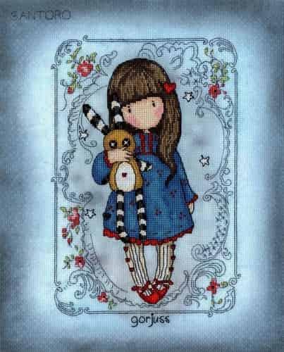 Bothy Threads Cross Stitch Kit - Gorjuss - Hush Little Bunny XG37