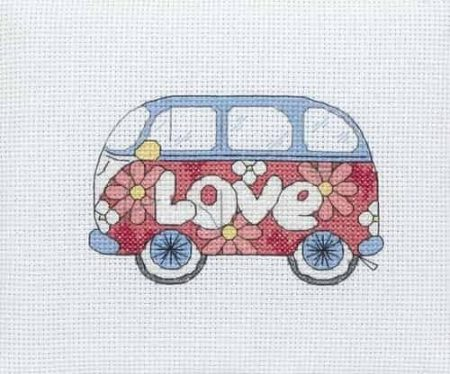 Anchor Cross Stitch Kit - Camper Van PCE210