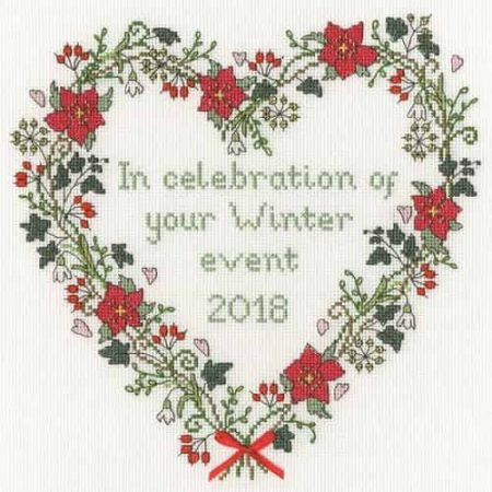 Bothy Threads Cross Stitch Kit - Winter Celebration XAH5