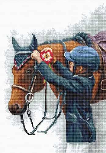 Luca-S Cross Stitch Kit - Champion, Horse - B2337