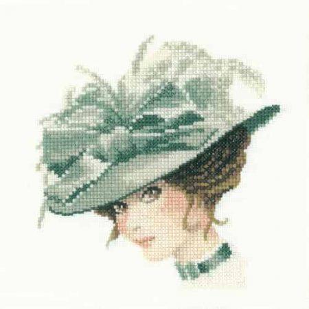 Heritage Crafts Cross Stitch Kit - John Clayton Elegance Miniatures - Charlotte