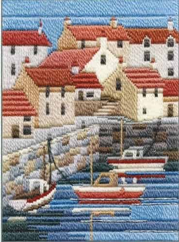 Derwentwater Designs Long Stitch Kit - Seasons, Coastal Summer
