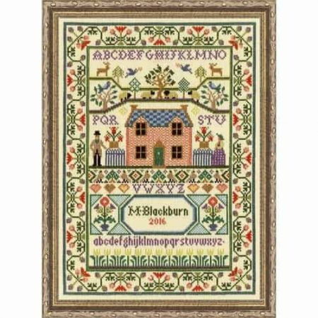 Bothy Threads Cross Stitch Kit - Moira Blackburn Country Cottage Sampler XS3
