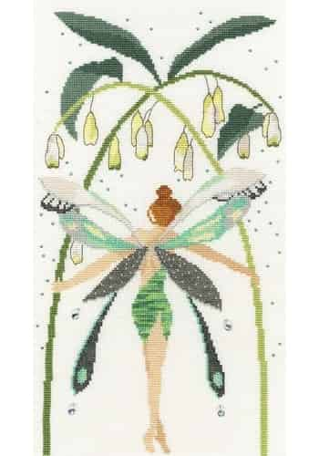 Bothy Threads Cross Stitch Kit - Fairies: Crystal XF8