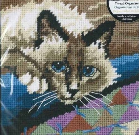 Dimensions Needlepoint Tapestry Kit - Cuddly Cat