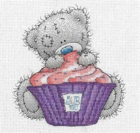 DMC Cross Stitch Kit - Me To You - Cupcake BL1139/72
