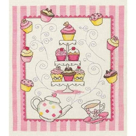 Anchor Cross Stitch Kit - Cupcake ACS44