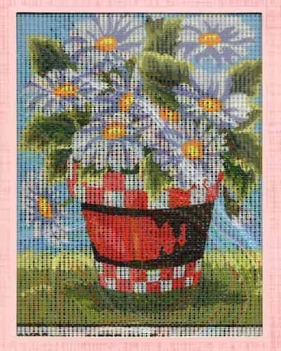 Grafitec Needlepoint Tapestry Kit - Daisies