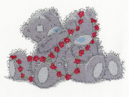 DMC Cross Stitch Kit - Tatty Teddy Me to You Daisy Chain BL1131/72