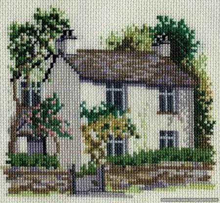 Derwentwater Designs Cross Stitch Kit - Dove Cottage