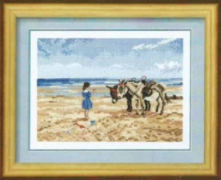 Heritage Crafts Cross Stitch Kit - Memories - Sharing the Treat