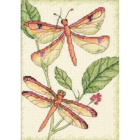 Dimensions Cross Stitch Kit - Dragonfly Duo