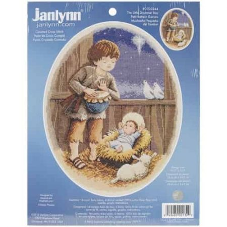 Janlynn Cross Stitch Kit - Little Drummer Boy
