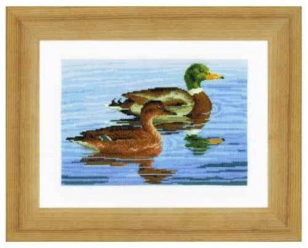 Vervaco Cross Stitch Kit - Ducks