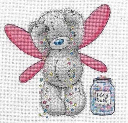 DMC Cross Stitch Kit - Me To You - Tatty Teddy - Fairy Dust BL1140/72