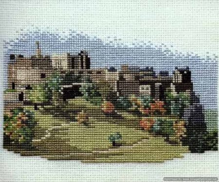 Derwentwater Designs Cross Stitch Kit - Edinburgh Castle