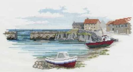 Derwentwater Designs Cross Stitch Kit - Fishermans Haven