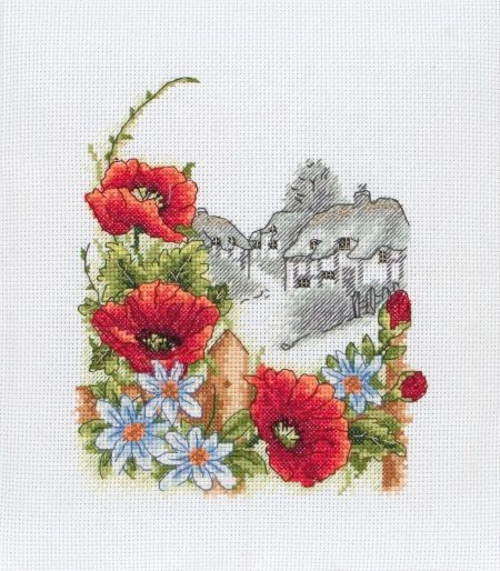 Anchor Cross Stitch Kit - Summer Days, Flowers PCE559