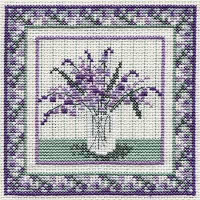 Derwentwater Designs Cross Stitch Kit - Bluebells, Flowers