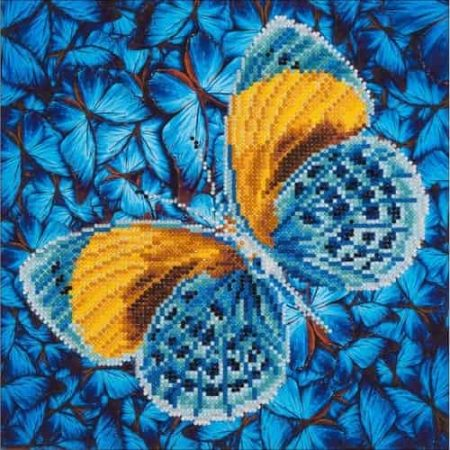 Diamond Dotz - Flutter by Gold DD5.016 - Diamond Facet Art Craft Kit