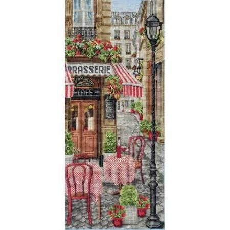 Anchor Cross Stitch Kit - French City Scene PCE0813