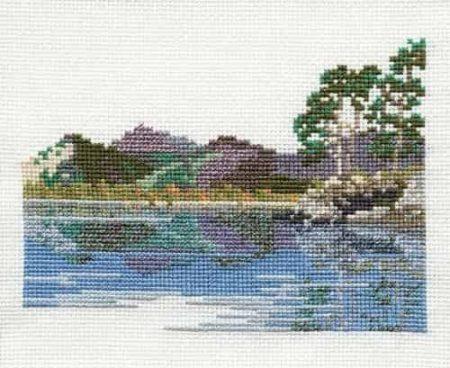 Derwentwater Designs Cross Stitch Kit - Friars Crag, Lake District