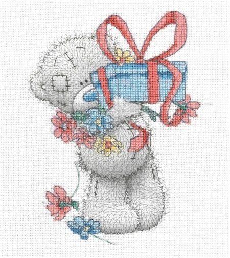 DMC Cross Stitch Kit - Me To You - Tatty Teddy - Gift BL1137/72