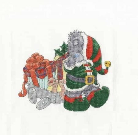 DMC Cross Stitch Kit - Tatty Teddy - Delivering Christmas Gifts - BL1096/72