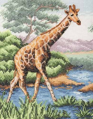 Anchor Cross Stitch Kit - Giraffe PCE965