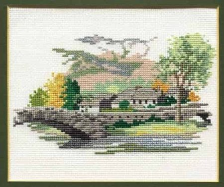 Derwentwater Designs Cross Stitch Kit - Dales Designs - Grange-in-Borrowdale