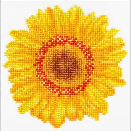 Diamond Dotz - Happy Day Sunflower DD3.004 - Diamond Facet Art Craft Kit