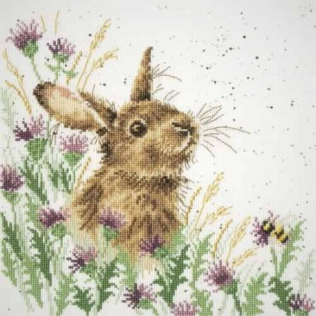 Bothy Threads Cross Stitch Kit - The Meadow - Hare
