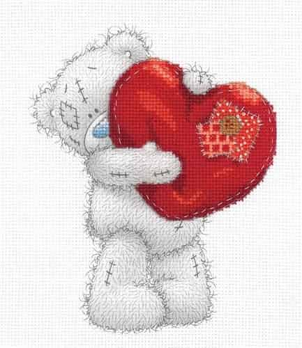 DMC Cross Stitch Kit - Me To You - Heart BL1136/72