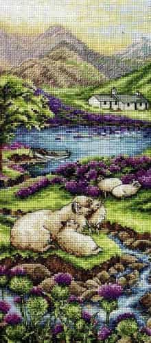Anchor Cross Stitch Kit - Highlands Landscape PCE0816