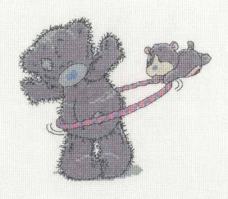 DMC Cross Stitch Kit - Tatty Teddy Me to You Hula Hoop  BL1134/72