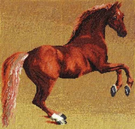 DMC Cross Stitch Kit National Gallery - Stubbs - Whistlejacket BL1115/71
