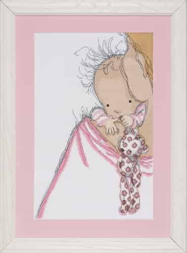 Design Works Cross Stitch Kit - Baby Hugs