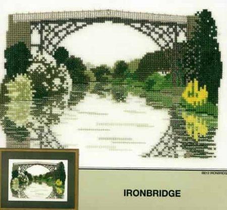Heritage Crafts Cross Stitch Kit - Ironbridge