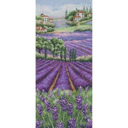 Anchor Cross Stitch Kit - Provence Lavender Scape PCE0807
