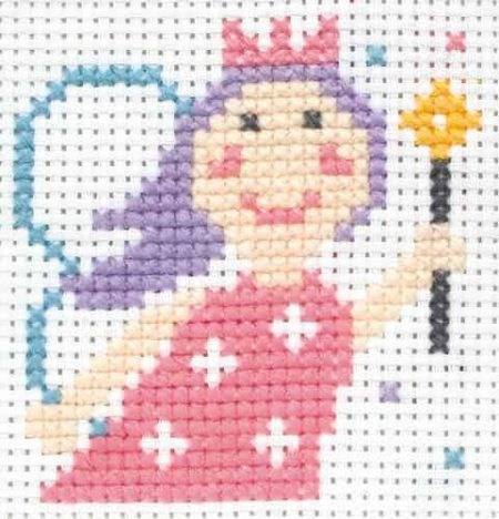 Anchor Beginners 1st Cross Stitch Kit - Lola Princess 10008