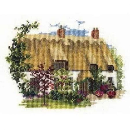 Derwentwater Designs Cross Stitch Kit - Midsummer Thatch