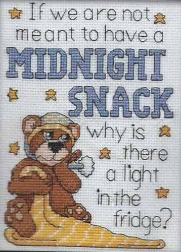 Design Works Cross Stitch Kit - Midnight Snack