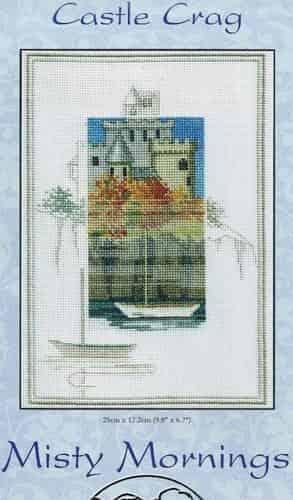 Derwentwater Designs Cross Stitch Kit - Misty Mornings - Castle Crag